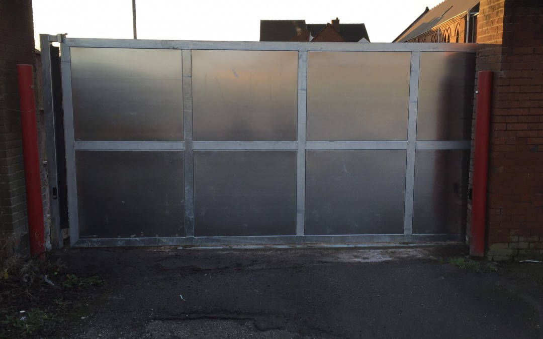 Gate Installation 19/01/2016