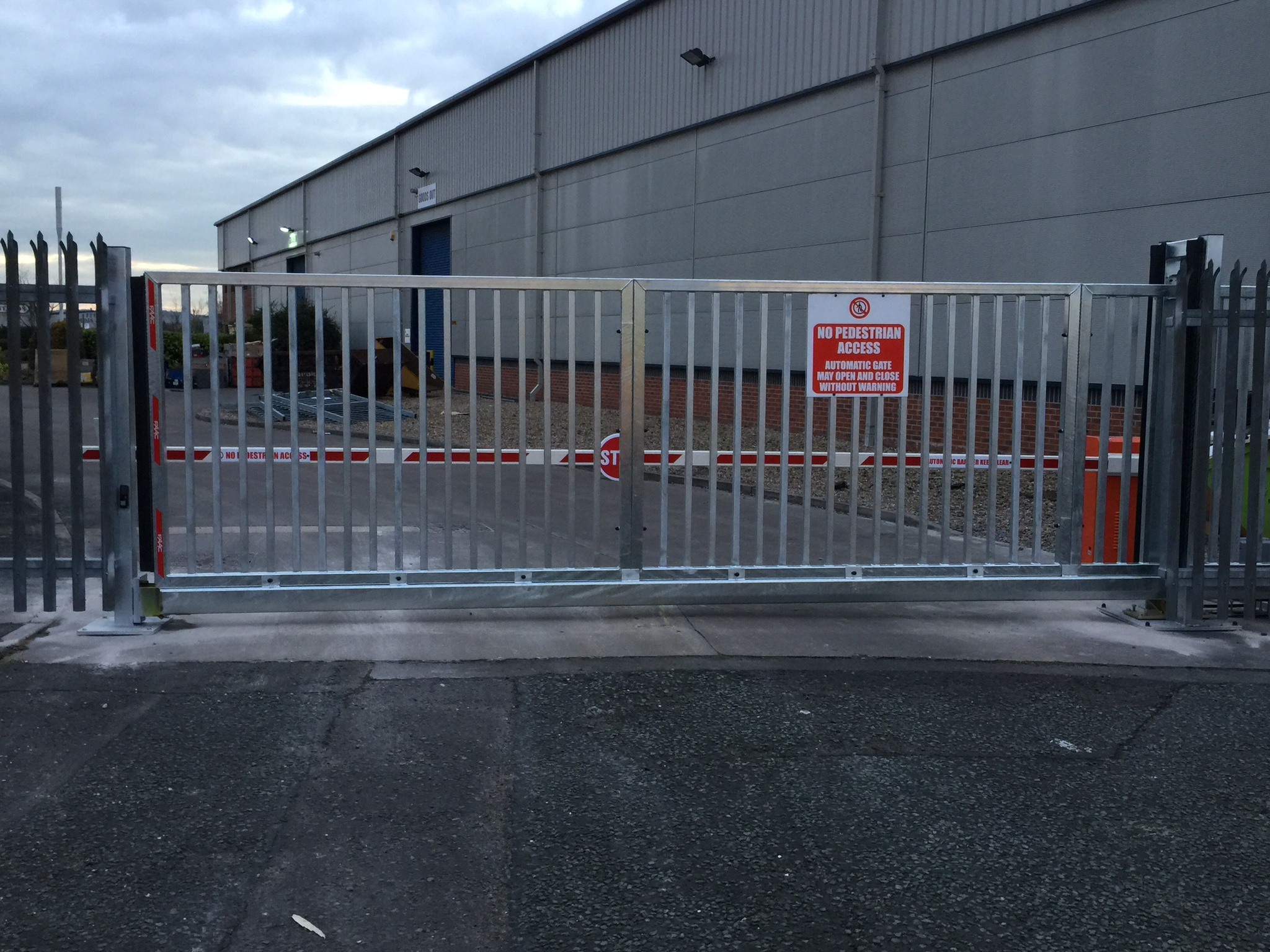 Gate And Barrier Installation 11 02 16 Midland Control